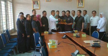 Kunjungan Kerja komisi II DPRD